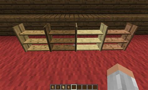 Tool Rack Minecraft by 1 4 7 Forge Bibliocraft V1 0 0 Bookcases Armor
