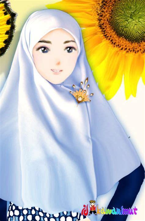 gambar kartun wanita muslimah cantik gambar kartun perempuan cake ideas and designs