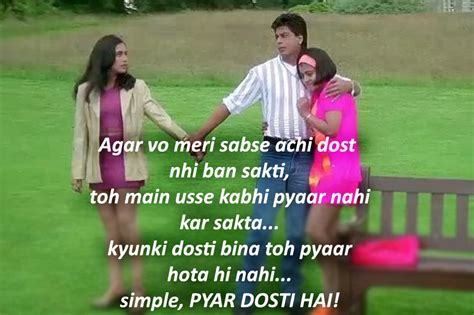 quotes film kuch kuch hota hai friendship day 2017 quotes about the sacred bond as