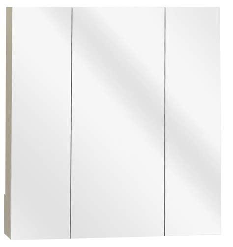 frameless mirrored medicine cabinet zenith m24 beveled edge mirrored frameless tri view