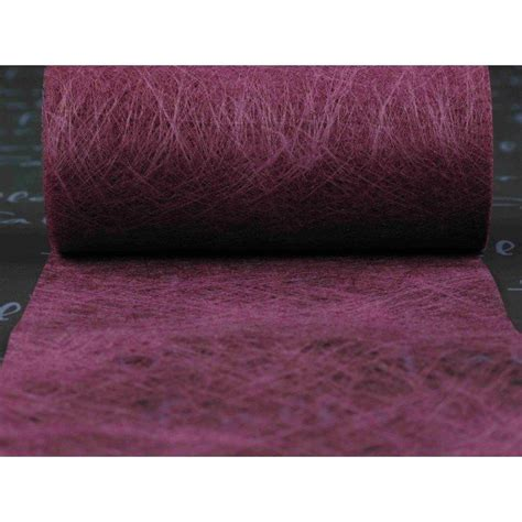 chemin de table organza violet petit model