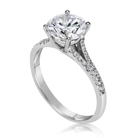 2 5 carat cut engagement ring ara diamonds