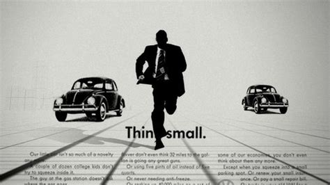 volkswagen think small most creative and famous advertising slogans