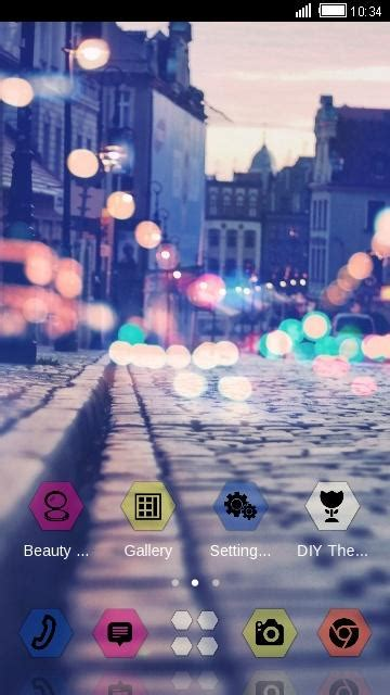 android themes view street night city view theme android apps on google play