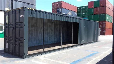 transformation des containers maritimes cedcontainer transformation de conteneurs 40 pieds hc pour une