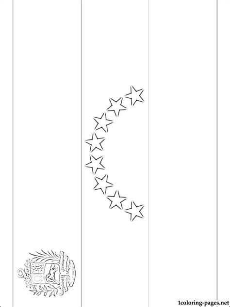 coloring page of venezuela flag venezuela flag coloring page coloring pages