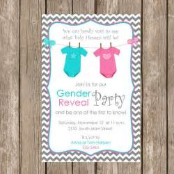 gender reveal invitation baby reveal invite printable personalized ge