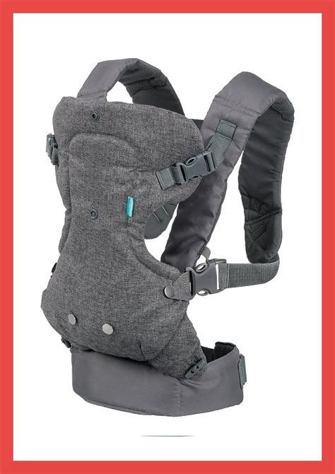 infantino flip advanced 4 in 1 convertible carrier light grey 3 best baby carriers for comfort security and
