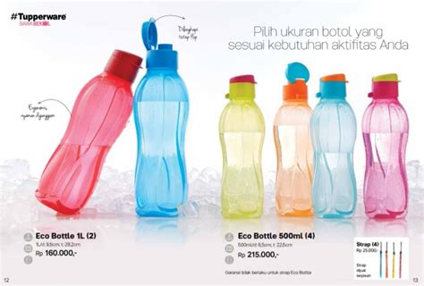 Terbaru Tupperware Eco Bottle 750ml katalog promo tupperware bulan april 2018 katalog harga