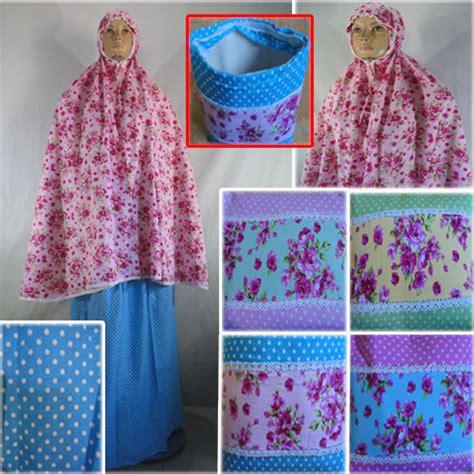 Mukena Katun Jepang Bunga Kode 045 mukena katun jepang bunga pusat grosir batik toko pakaian jual grosir murah batik
