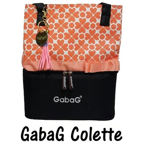 Tas Pendingin Cooler Bag Lunch gabag colette cooler bag tas asi dua kompartemen