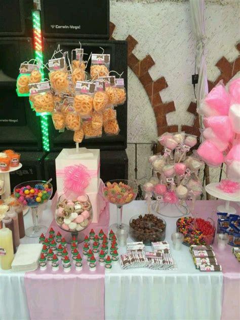 mesas de dulces para bodas mesa de dulces ideal bodas bautizos xv a 241 os fiestas