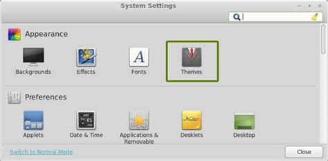 icon changer themes how to install icon themes in linux mint cinnamon