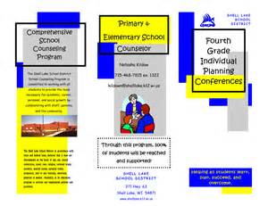 brochure templates for school project search results for menu printable template tri fold