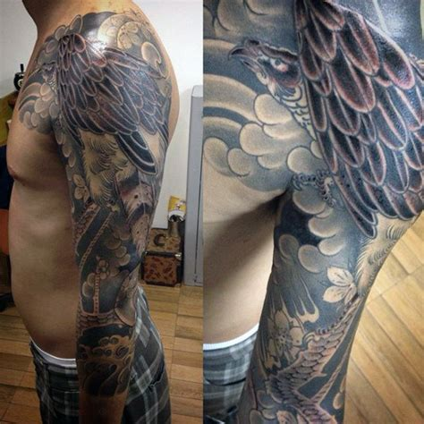 100 hawk tattoo designs for men masculine bird ink ideas