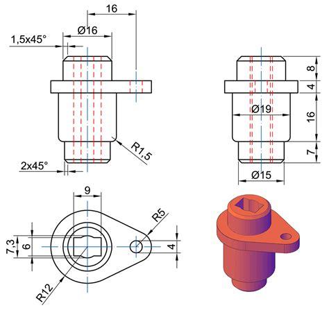 tavole grafiche professionali esercitazione disegno tecnico 3d prismacad