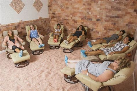 Salt Room Nyc the wellness trend salt rooms from the grapevine