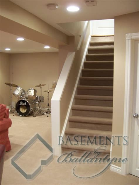 half wall staircase basements by ballantyne s staircase pictures