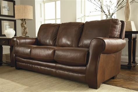 lane leather couches enhancing room with lane bowden leather sofa s3net