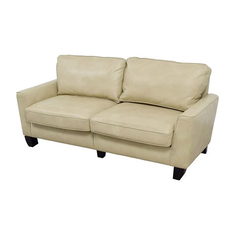 serta sofa 72 off serta serta astoria coated fabric sofa in