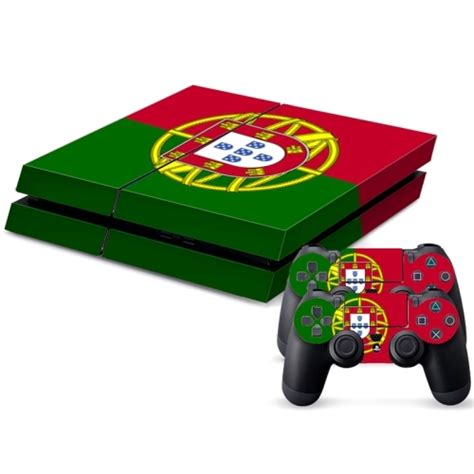 Ps4 Games Sticker by Portuguese Flag Pattern Decal Stickers For Ps4 Game