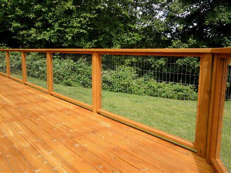 Hog Panel Deck Railing by Hog Panel Deck Railing Wooden Capricornradio