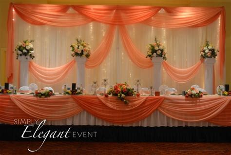 Grey And Blue Curtains 2 Panel Kit Backdrop White Backdrop With Peach And Coral