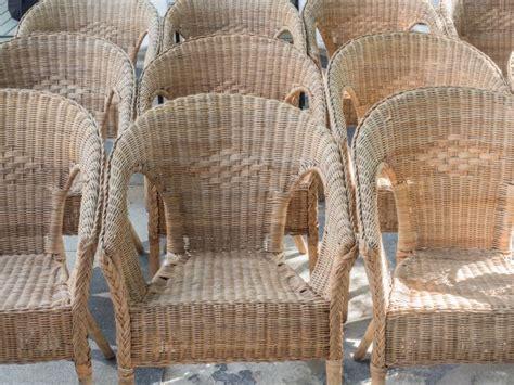 sedie in vimini da interno come pulire e smacchiare le sedie in vimini mamma felice