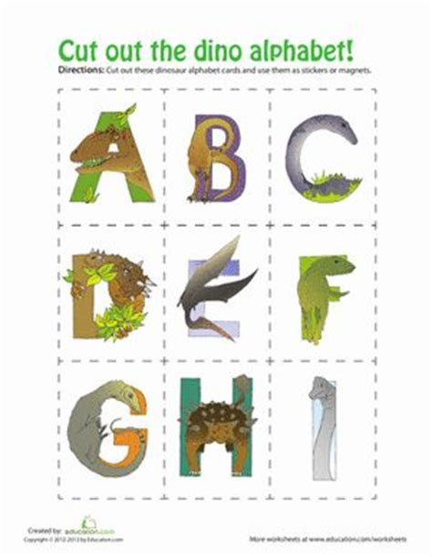 alphabet letters to print dinosaur alphabet alphabet worksheets worksheets and 1073