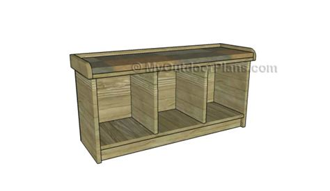 entry bench plans small entryway bench plans myoutdoorplans free