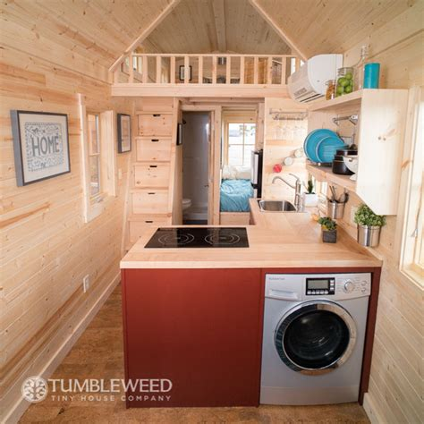 tumbleweed homes interior top laundry units for tiny homes tumbleweed tiny house