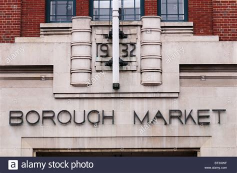 borough market sign borough market sign stock photos borough market