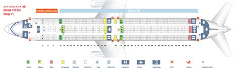 Seat Map Boeing Air Canada by Air Canada Boeing 767 Seating Map Www Microfinanceindia Org