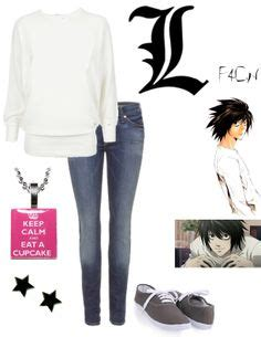 Jaket Hoodie L Deathnote Lawliet Anime Sleting Dg Ja Dn 13 1000 images about show inspired on casual finding and high