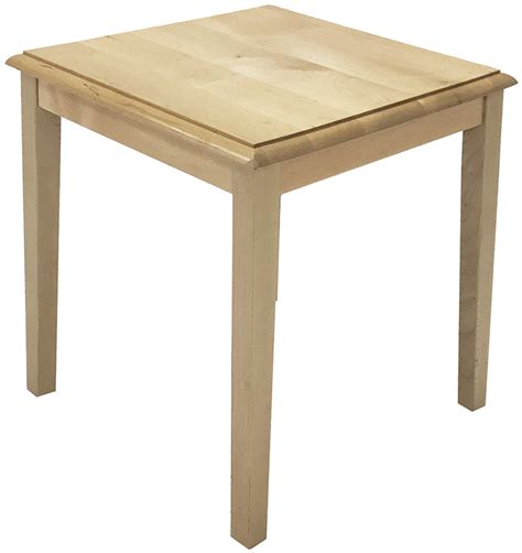 Solid Wood Coffee And End Tables Solid Wood Reception End Table Coffee Table Series 20 Quot Square End Table