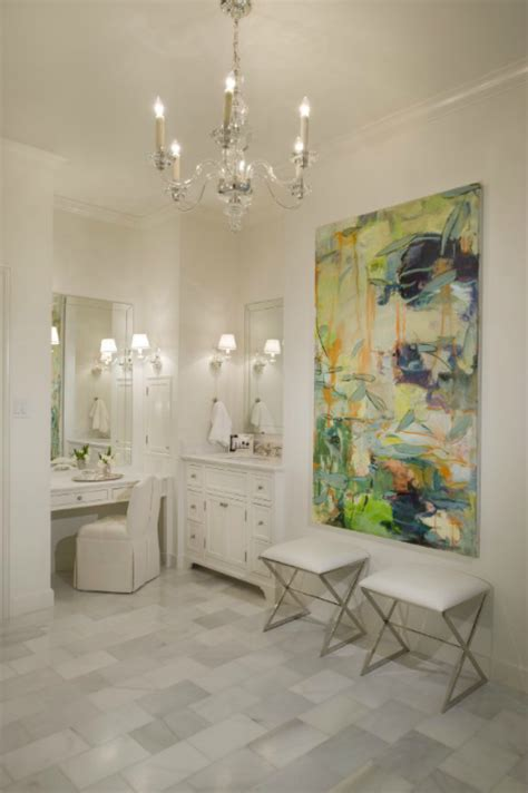 chandeliers in bathrooms bathroom chandeliers design ideas