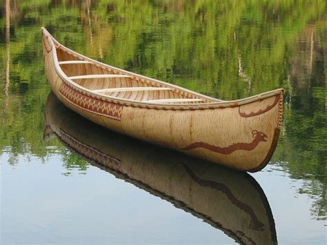 canoes made in ontario steve cayard builds authentically styled birchbark canoes