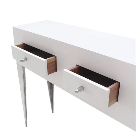 white lacquer sofa table white lacquer console table cabinet tall tempered legs
