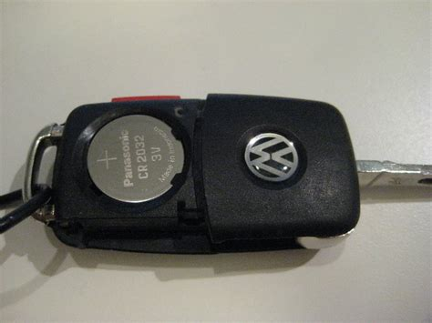 vw jetta key fob battery replacement guide 010