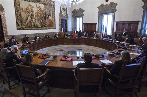 ordine giorno consiglio dei ministri governo cdm convocato per oggi venerd 236 17 gennaio a