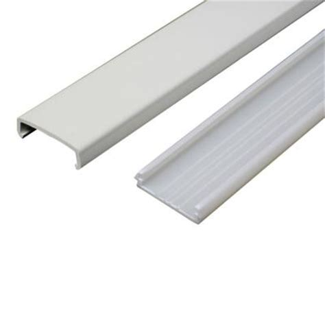 Wiremold Floor Track by Wiremold 5 Ft Non Metallic Raceway Wire Channel White