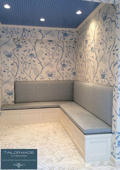 tailor made upholstery custom made kitchen banquette wall upholstery with custom