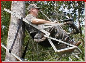 most comfortable deer stand docsrecliner tm quality hunting tree stands