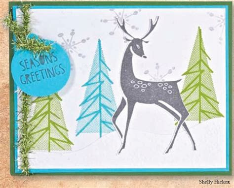 reindeer rubber st ster s anonymous tim holtz cling mounted rubber