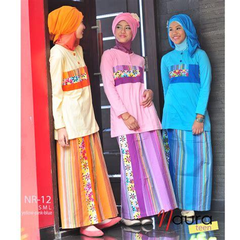 Baju Muslim Remaja Untuk Hang Out busana anak remaja butik naura