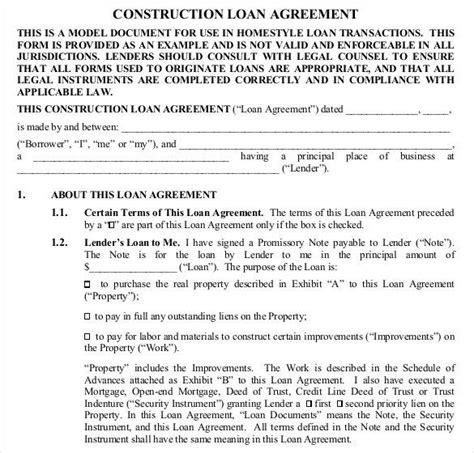 commercial loan agreement commercial loan agreement template sarahepps