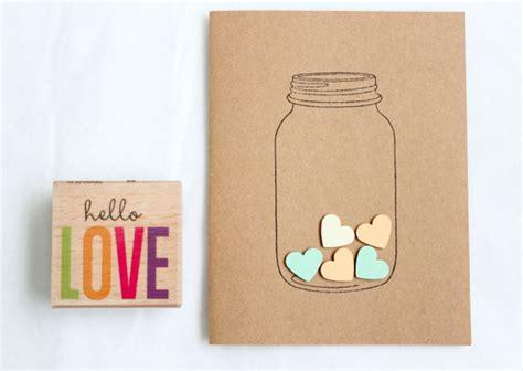 Innovative Handmade Cards - in a jar made stationary cards