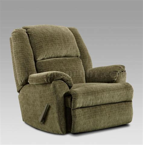 fabric rocker recliner sage fabric modern elegant chaise rocker recliner