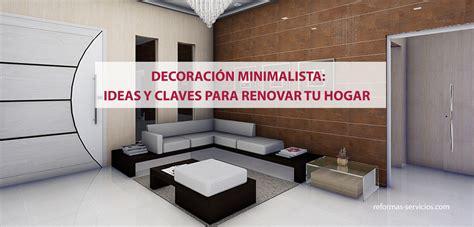 decoracion hogar minimalista decoracion minimalista