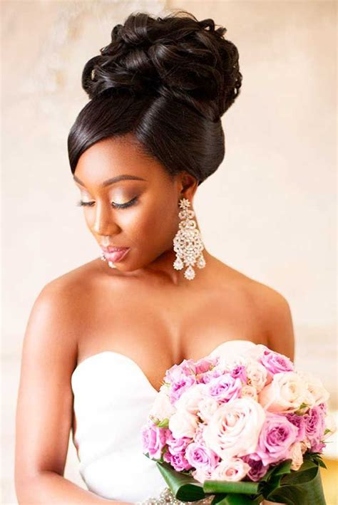Wedding Hairstyles With Weave by 5 Flattering Wedding Hairstyles With Bangs Black
